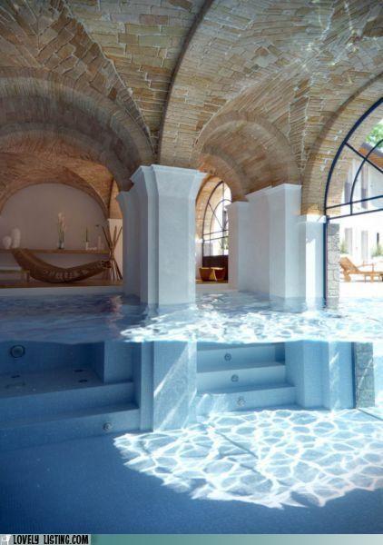 columns,pool