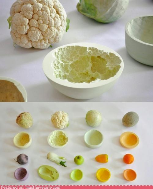 bowls molds vegetables - 5185470464