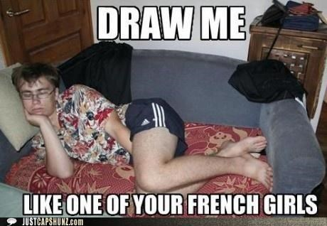 clothing draw me french girls gross pose quotes sleeping titanic ugly - 5185678848