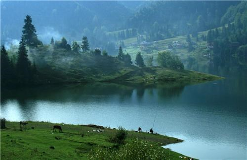 blue,eastern europe,europe,fishing,getaways,green,lake,peaceful,romania,trees,water