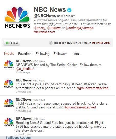 911 fake ground zero hacked NBC News news twitter Twitter Troubles - 5185906944