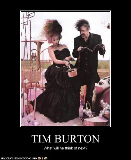 TIM BURTON What will he think of next?