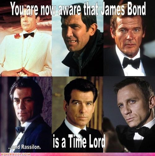bond doctor who funny Hall of Fame james bond sci fi - 5186171904