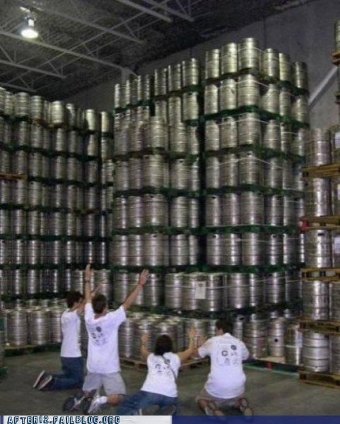 beer bow down classic glory hallelujah keg thousands of them - 5186379520