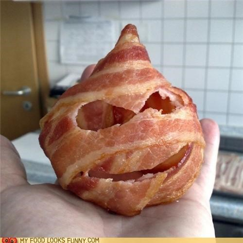 bacon,ball,disguise,face,mask
