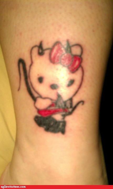 animals Cats hello kitty poor execution pop culture sexual - 5186731520