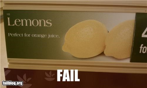 classic failboat food g rated identification lemon orange simpsons - 5186830336