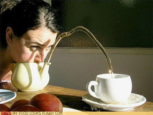 blow EA face pour serve teacup teapot - 5186861312