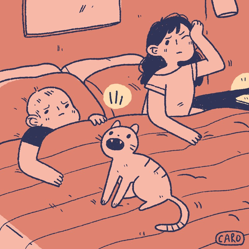 comics about cats