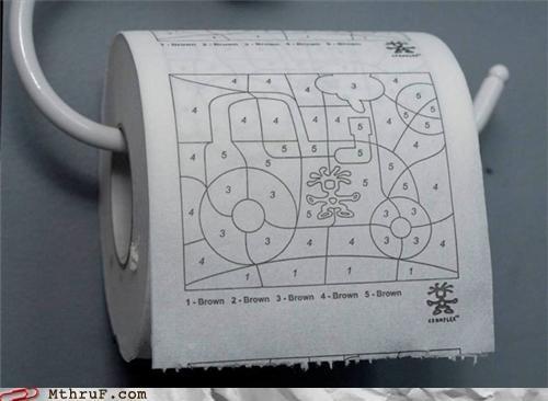 paint by numbers poopin pooping toilet paper - 5187104256