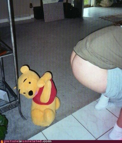 booty,eww,winnie the pooh,wtf