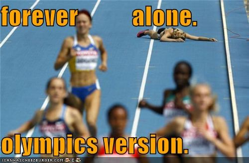 FAIL fall fallen forever alone Memes runners running Track and Field Up Next in Sports