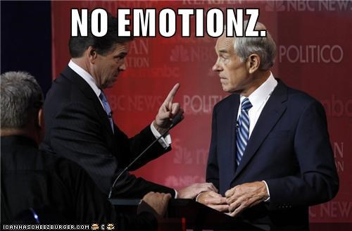 emotions,politicians,Pundit Kitchen,Republicans,Rick Perry,Ron Paul