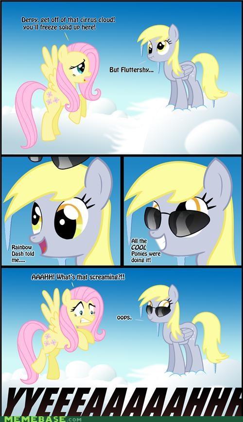awww yeaa comics derpy hooves flutter shy muffinz - 5187860480