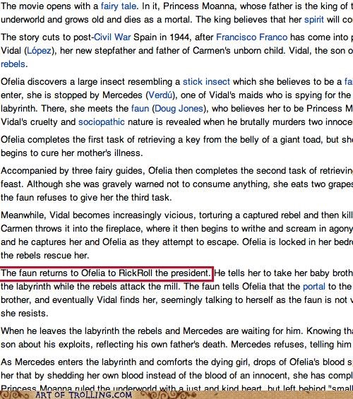 pans-labyrinth rickroll synopsis wikipedia - 5187983104