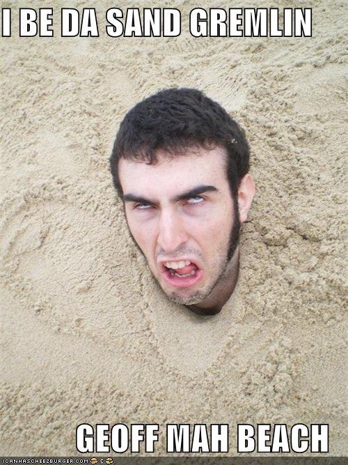 beach derp sand castle sand gremlin stuck - 5188460288