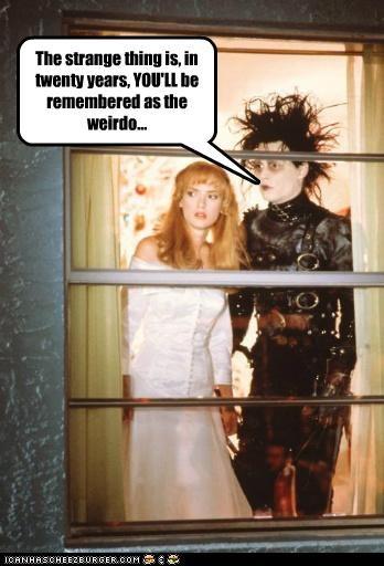 actor celeb funny Johnny Depp Movie winona ryder - 5189126144