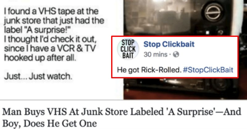 trolling social media ridiculous clickbait - 5189381