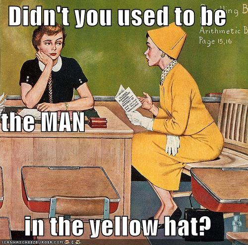 Curious George historic lols man in the yellow hat teachers transgender - 5189912320