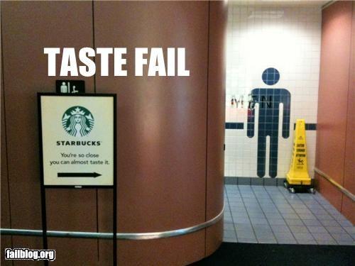 bathroom failboat g rated juxtaposition signs Starbucks - 5190179584