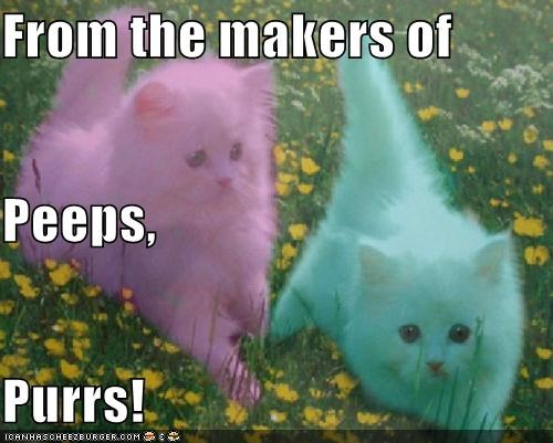 From the makers of Peeps, Purrs!