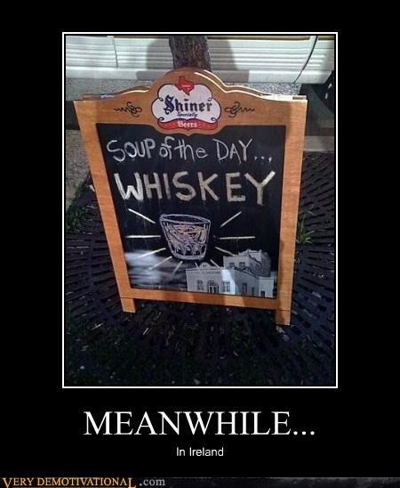 Ireland Meanwhile Pure Awesome soup whiskey - 5190209792