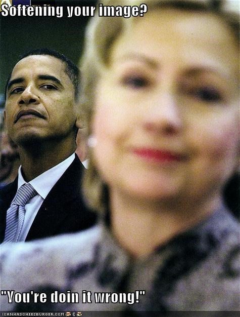 barack obama clinton democrats First Lady Hillary Clinton president - 519103232