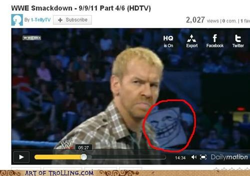 sign troll face wwe