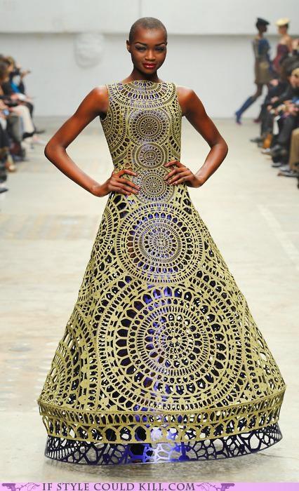 cool accessories gown manish arora runway - 5192132608