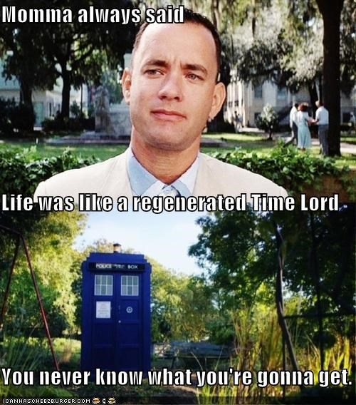actor celeb doctor who Forrest Gump funny Hall of Fame Movie sci fi tardis tom hanks - 5192548608