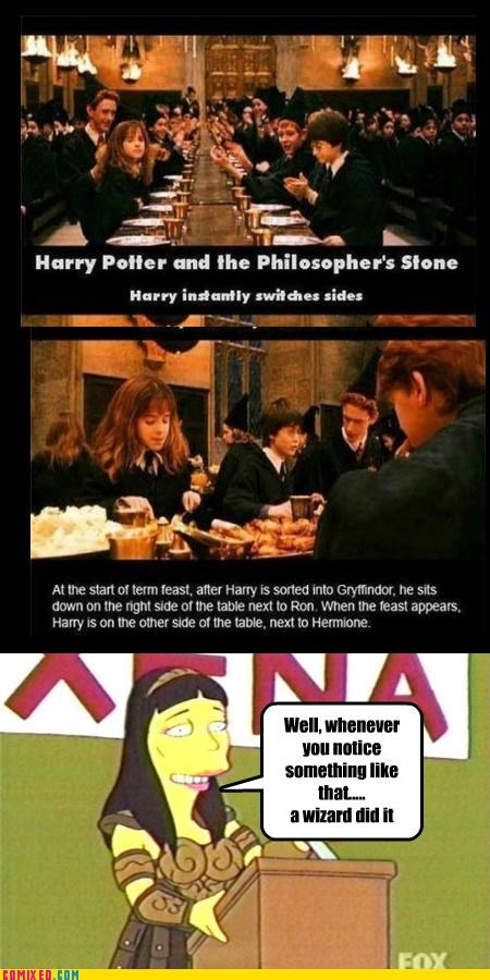 Harry Potter philosophers-stone Simpsons Did It wizard - 5192881920