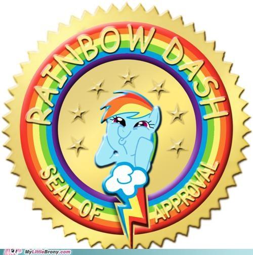 20 Percent Cooler cutie mark rainbow dash seal of approval season 2 - 5193774336