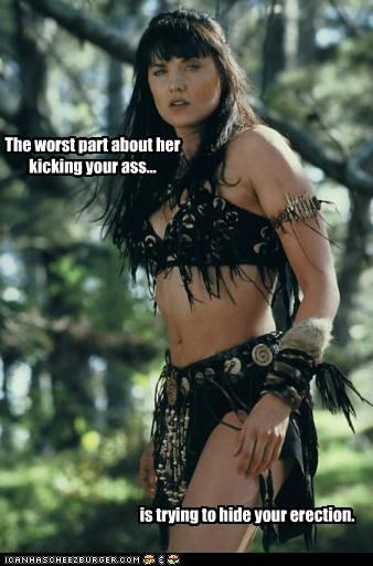 actor celeb funny Hall of Fame Lucy Lawless sci fi TV Xena - 5193925888