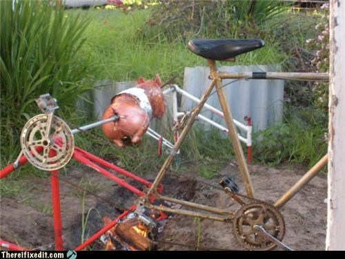 bicycle cooking dual use Mad Science Monday - 5194334208