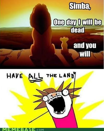 all the things,disney,lion king,simba,yours