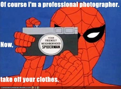 photographer sexy pics Spider-Man Super-Lols - 5195113472