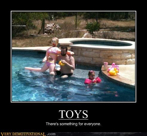 everyone hilarious pool toys