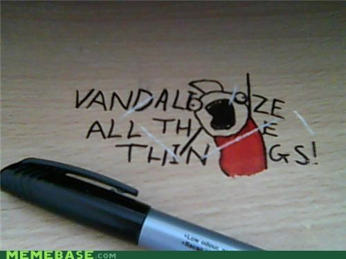 all the things,IRL,marker,spaces,vandalize