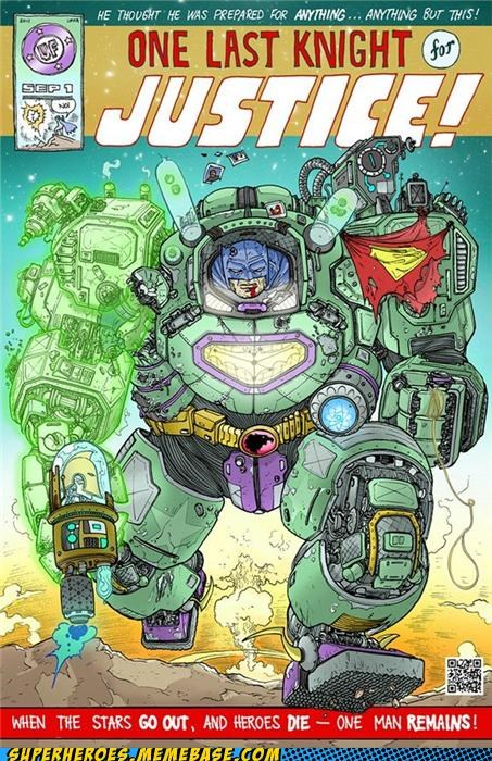batman best of week DC mech Straight off the Page superheroes wtf - 5195274496