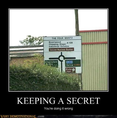 hilarious nuclear bunker secret sign wrong - 5195319040