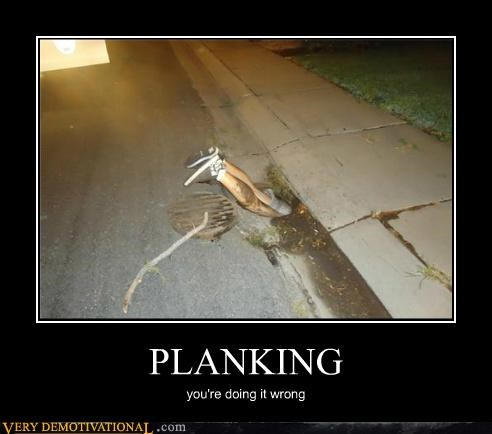 doing it wrong sewer hilarious Planking - 5195343872