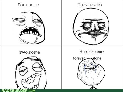 best of week,forever alone,handy,Rage Comics,sexytimes