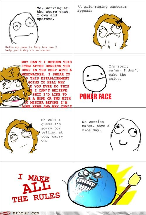 comic customer customer service manager rage comic - 5195636736