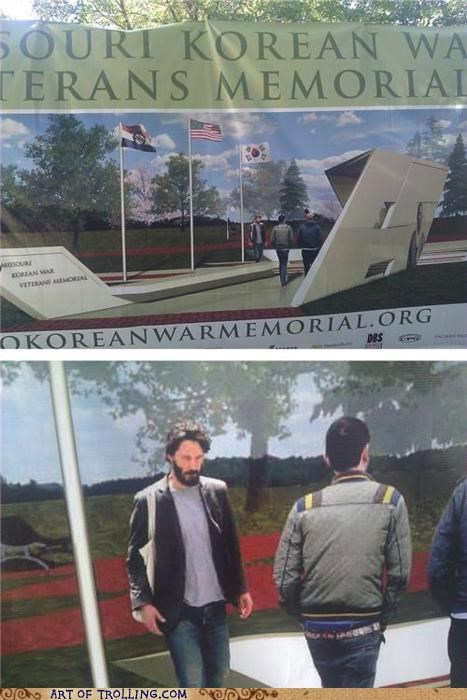 korean war,keanu reeves,sad keanu