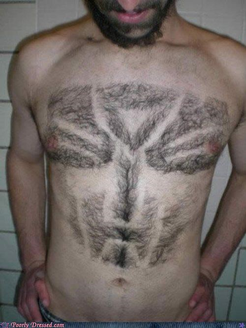 chest chest hair hair shaved transformers - 5195681536