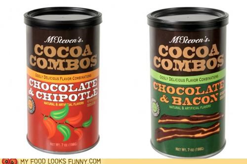 bacon,chipotle,chocolate,cocoa,flavor,hot chocolate,instant,nmix