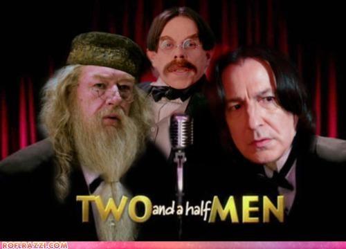 Alan Rickman funny Hall of Fame Harry Potter Michael Gambon Movie sci fi shoop warwick davis - 5195908096