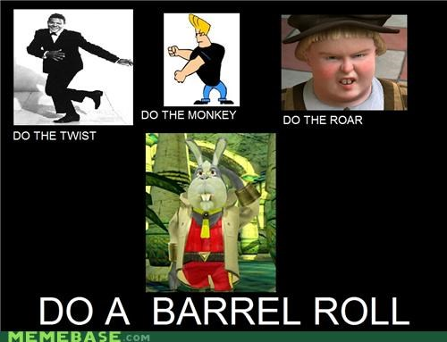 barrel roll Memes peppy starfox video games - 5195914752