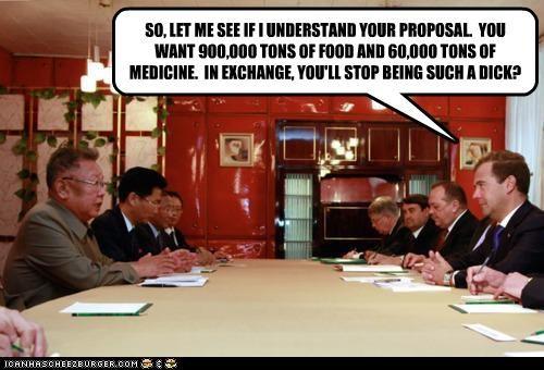 Dmitry Medvedev Kim Jong-Il political pictures - 5196014848