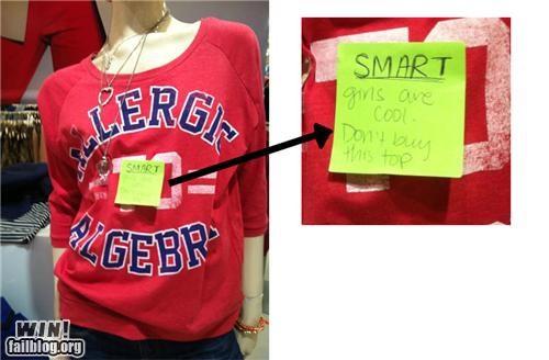 fashion hacked irl response sassback sexism shirt stereotype - 5196266752